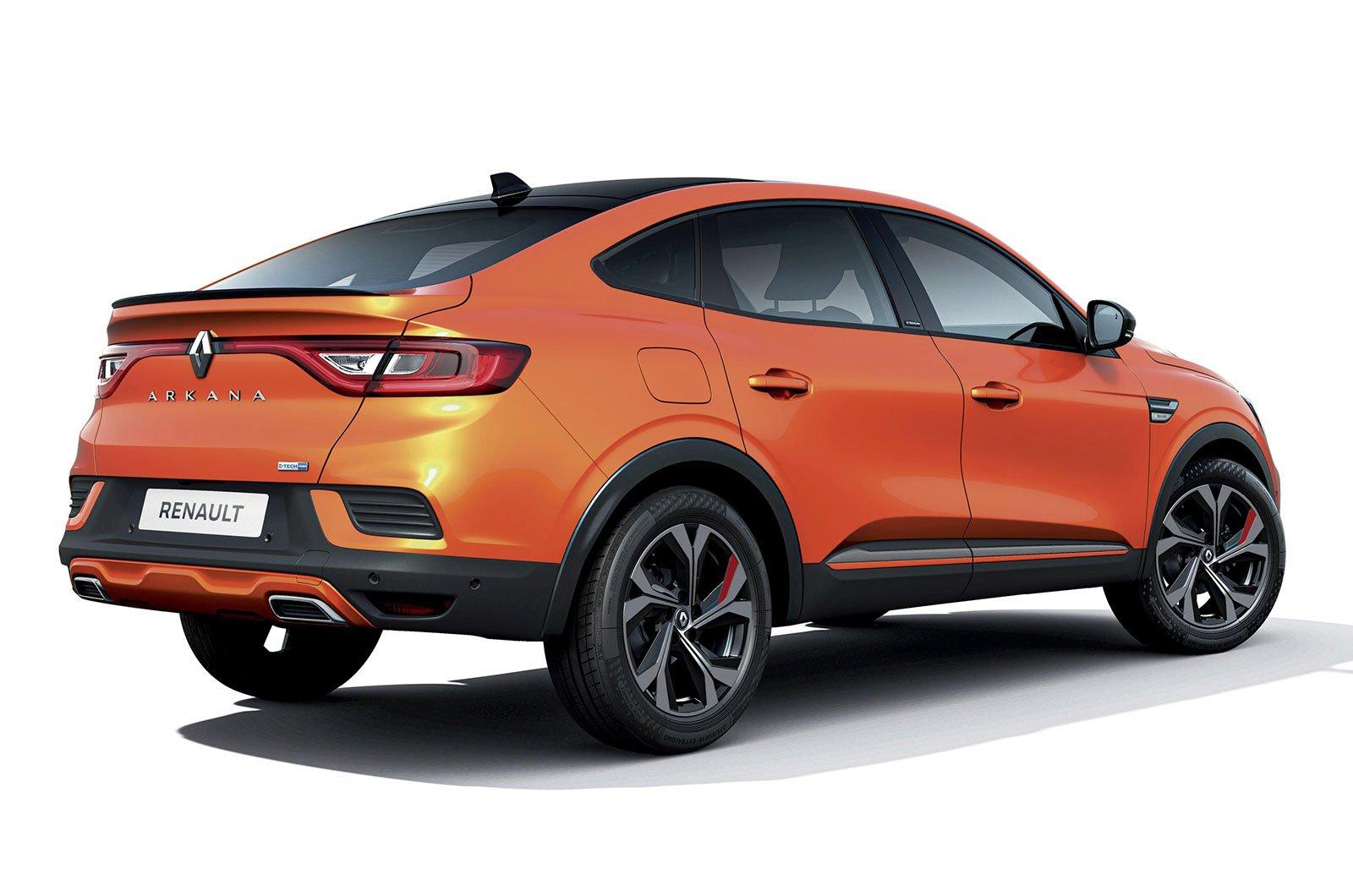 2021 Renault Arkana rear