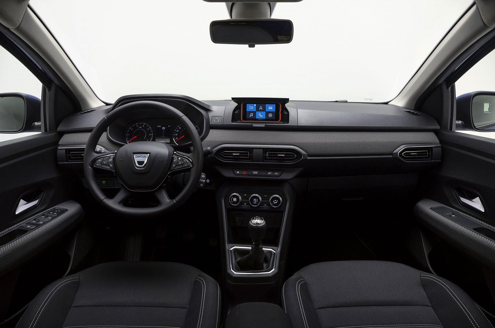 2021 Dacia Sandero interior
