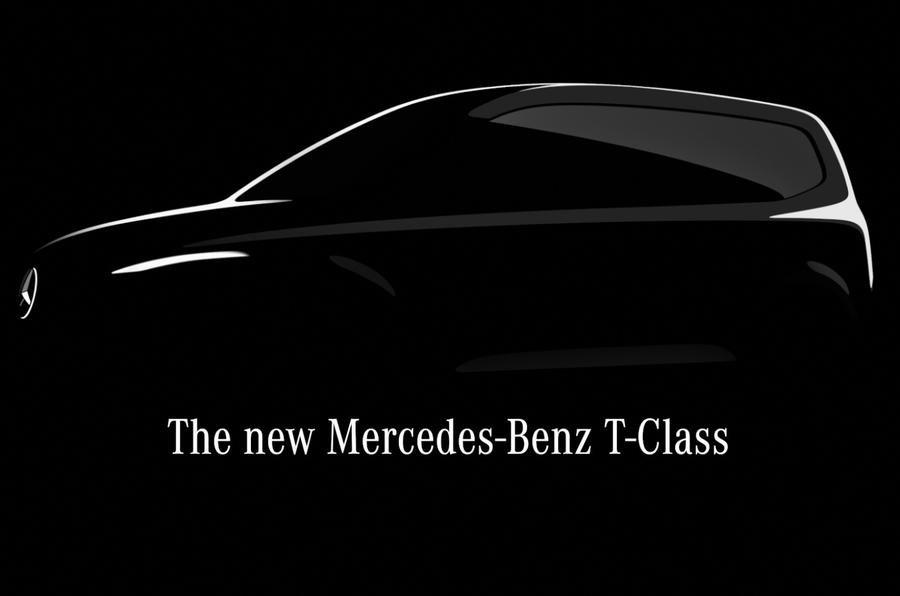 Mercedes T-Class sketch