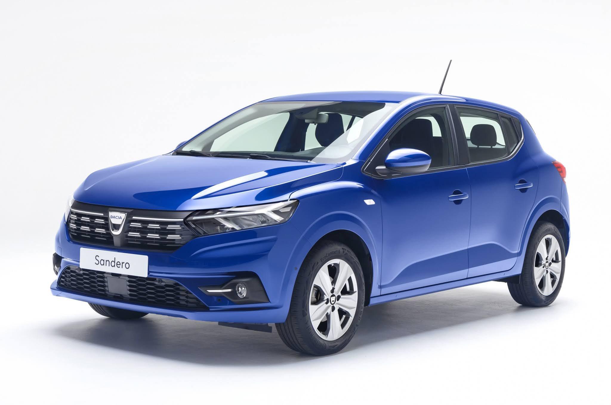 2021 Dacia Sandero front