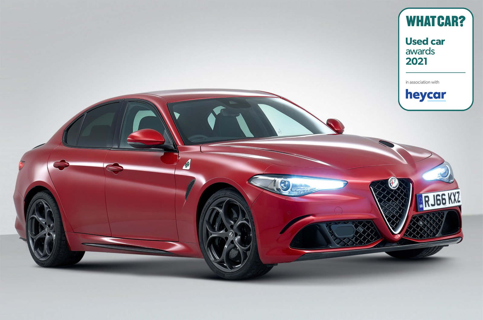Used Car Awards 2021 - Alfa Romeo Giulia Quadrifoglio