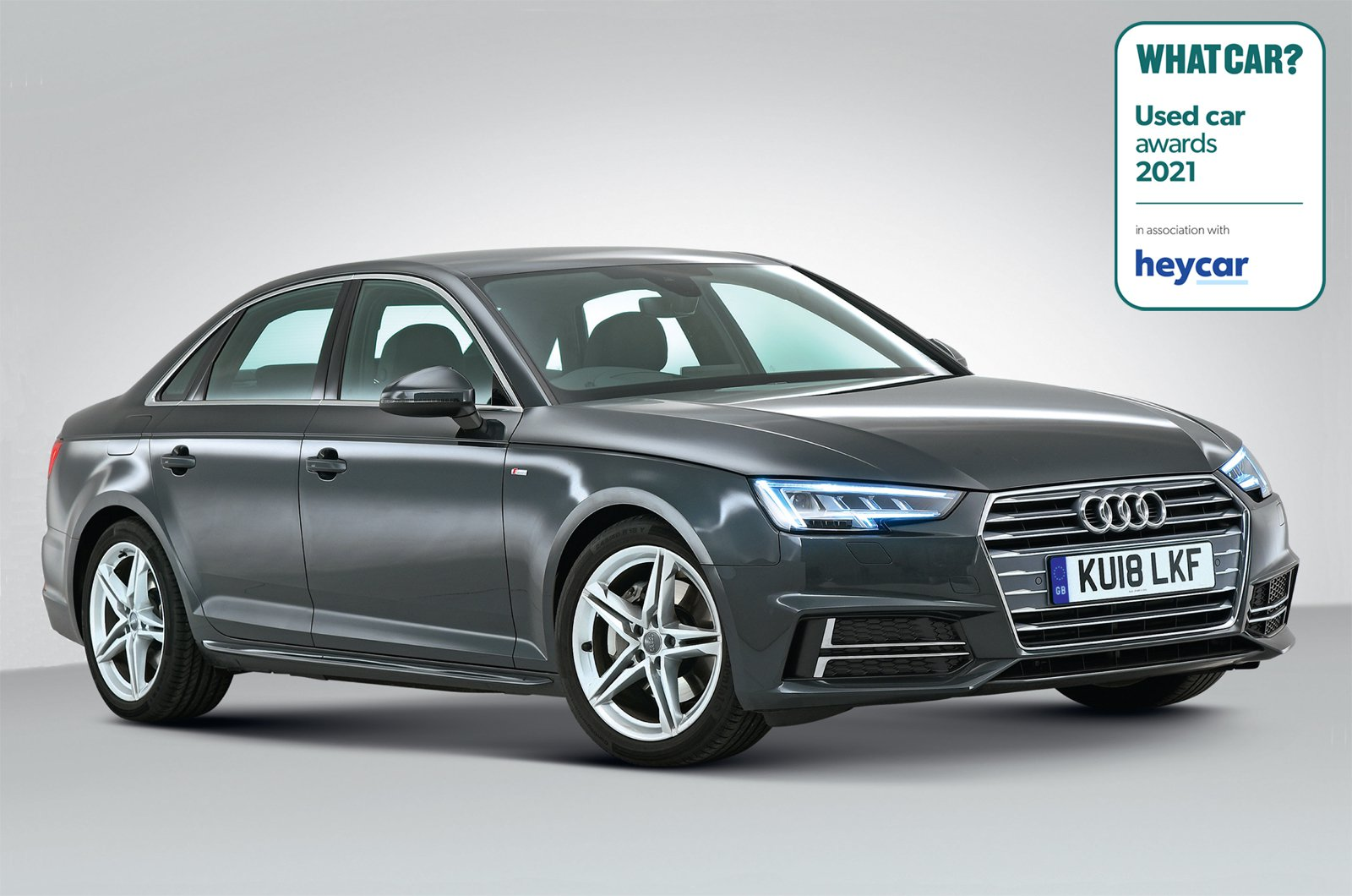Used Car Awards 2021 - Audi A4