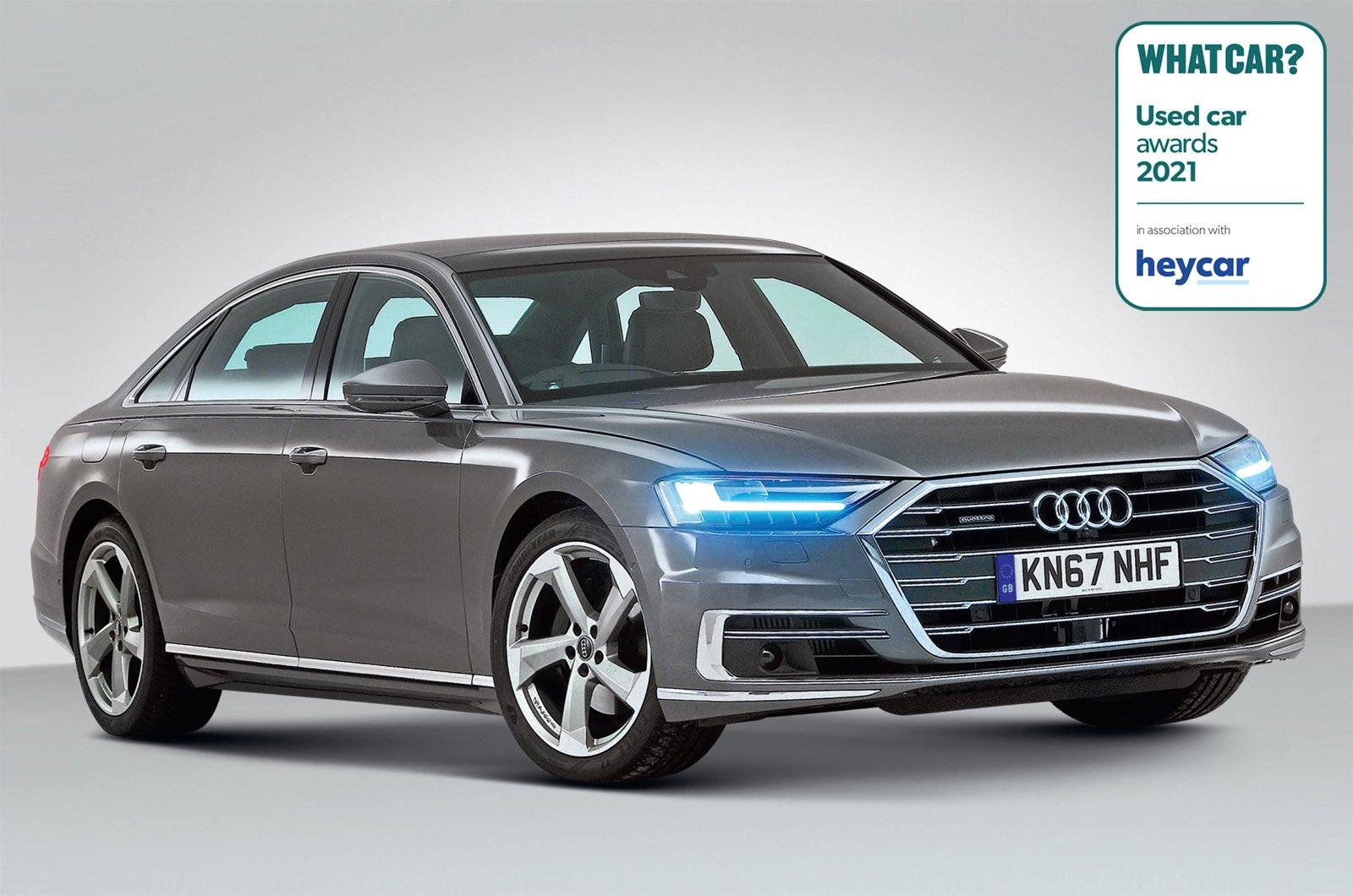 Used Car Awards 2021 - Audi A8