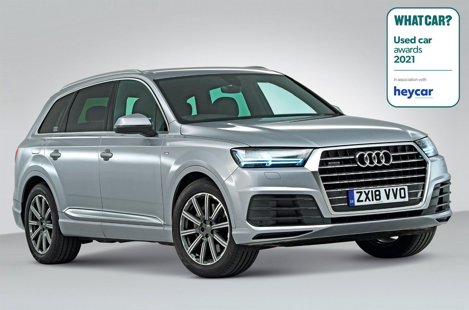 Used Car Awards 2021 - Audi Q7
