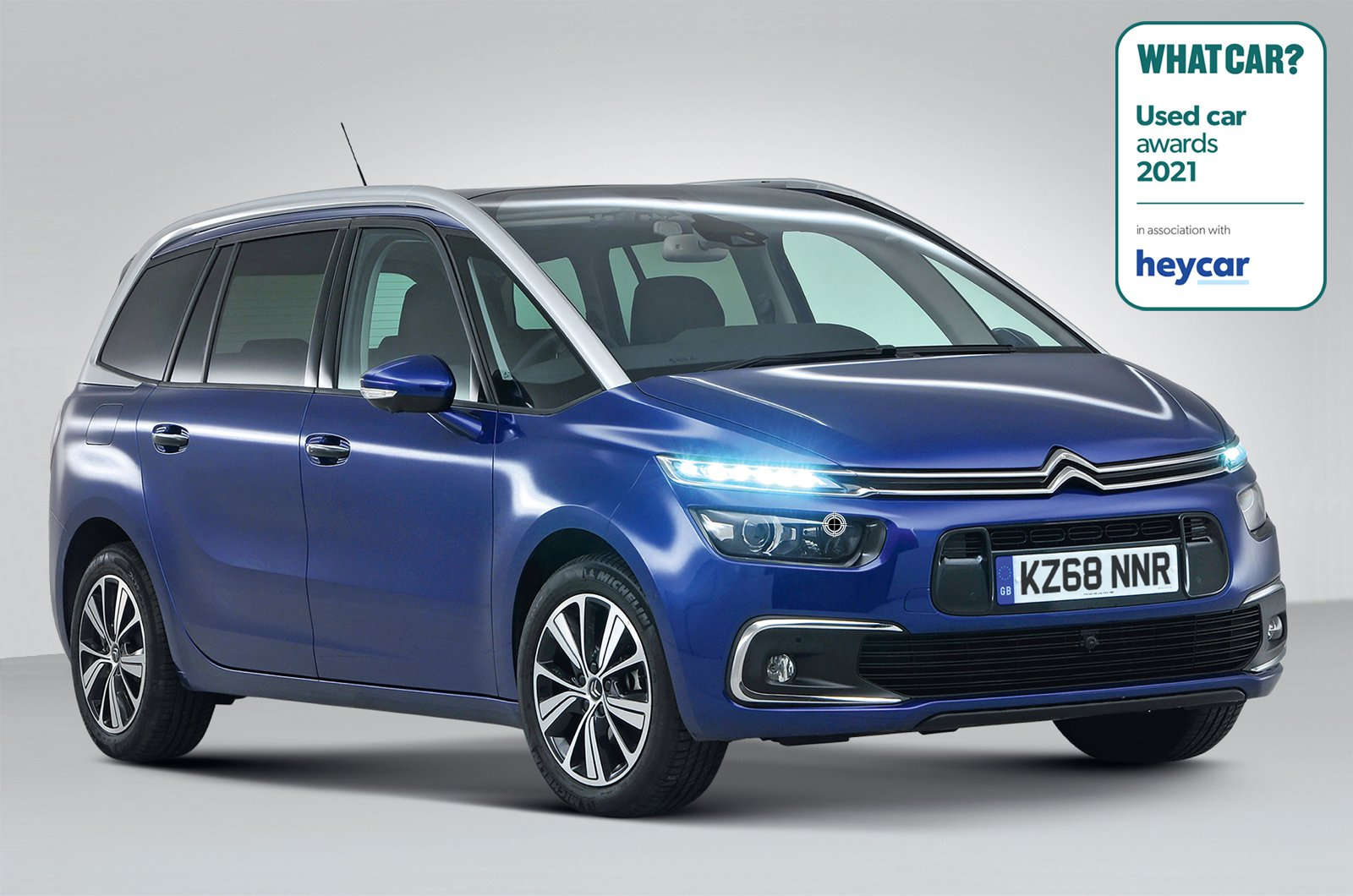 Used Car Awards 2021 - Citroen Grand C4 Spacetourer