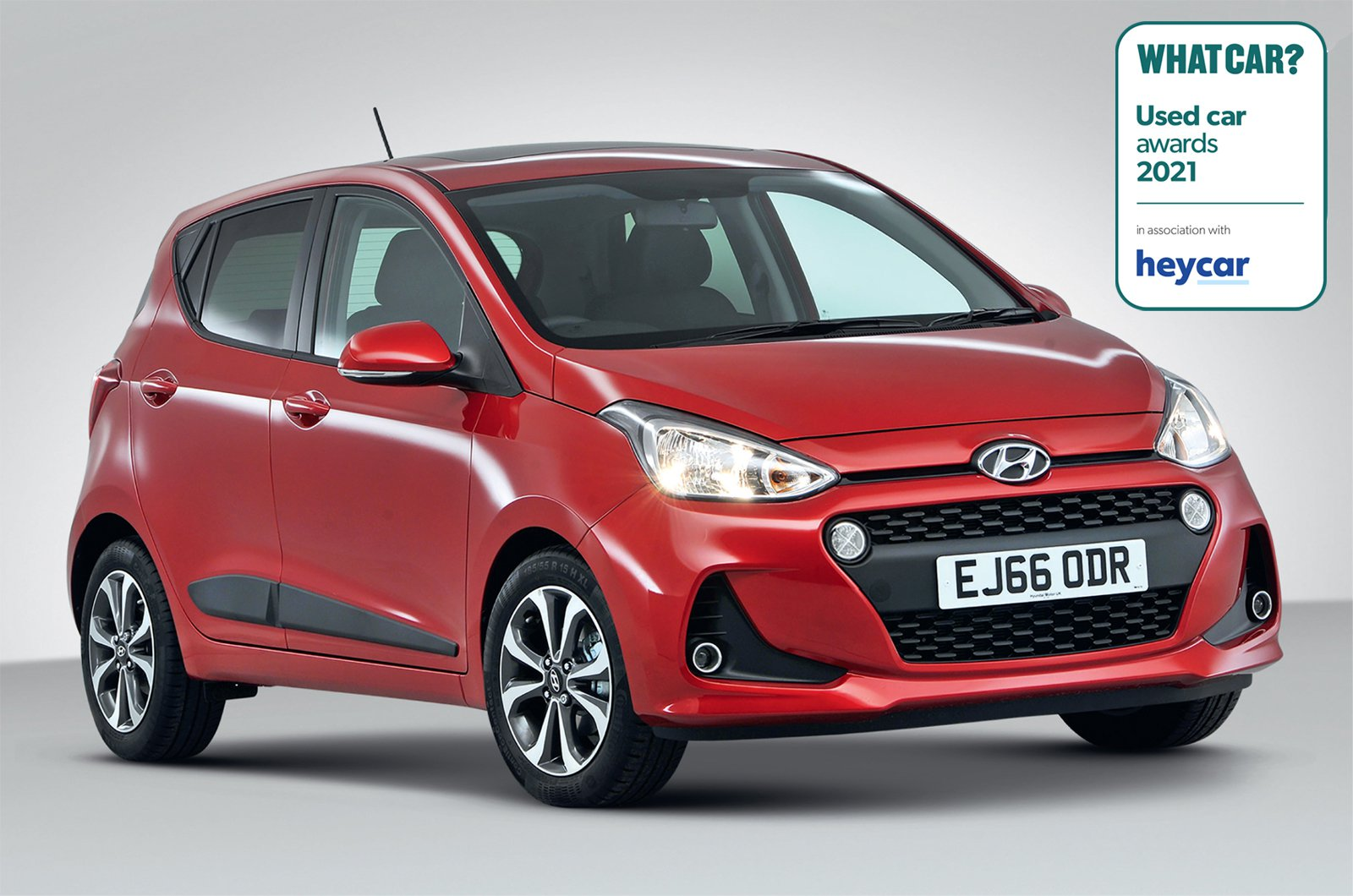 Used Car Awards 2021 - Hyundai i10