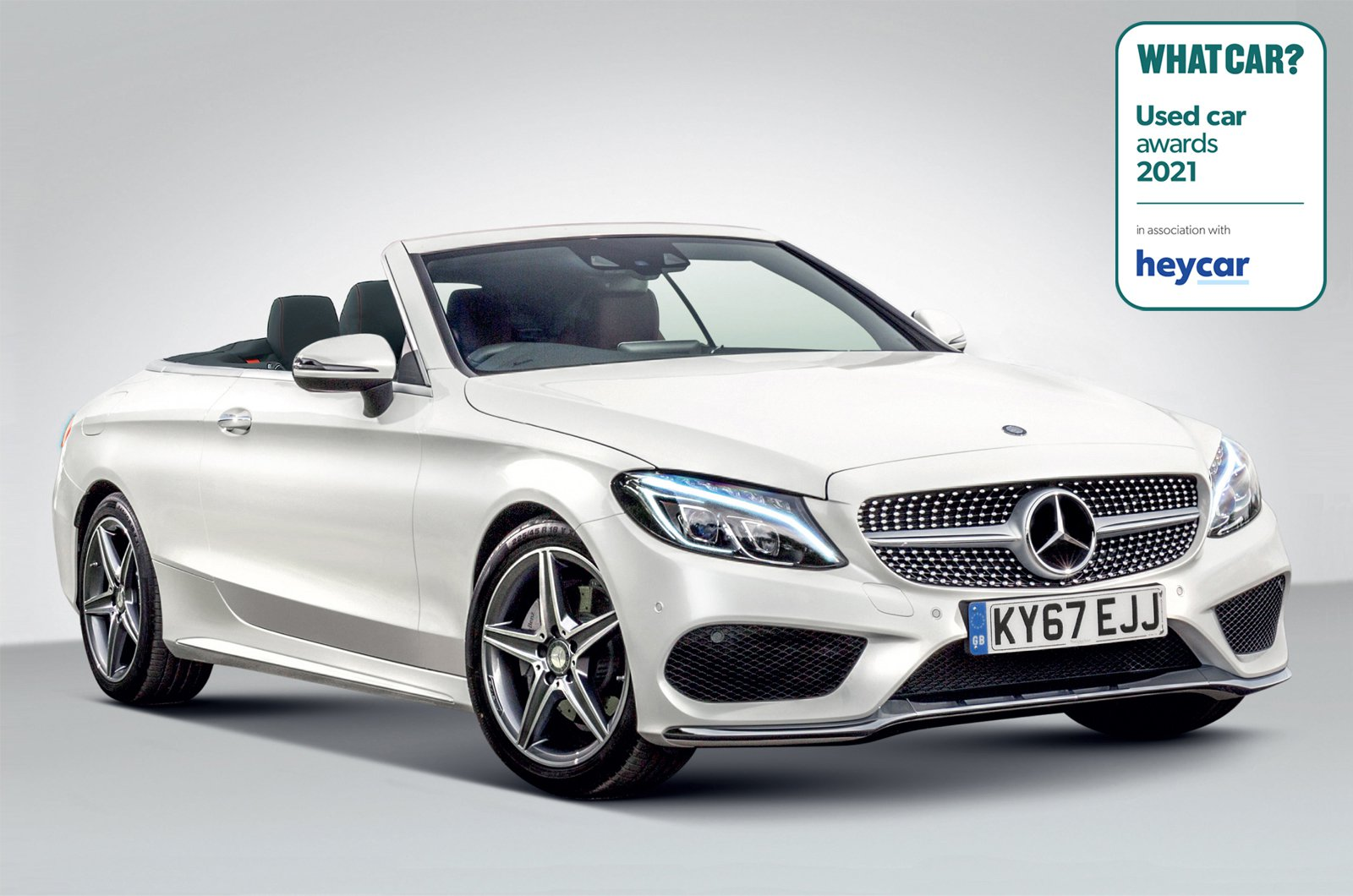 Used Car Awards 2021 - Mercedes E-Class Cabriolet