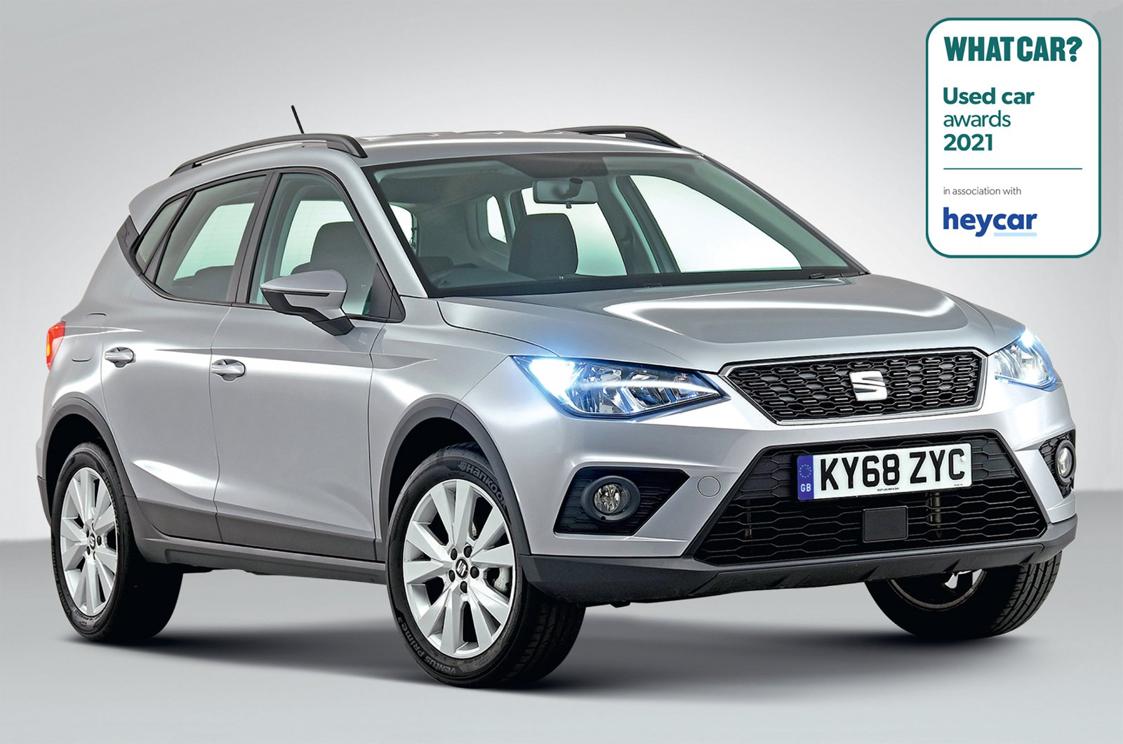 Used Car Awards 2021 - Seat Arona