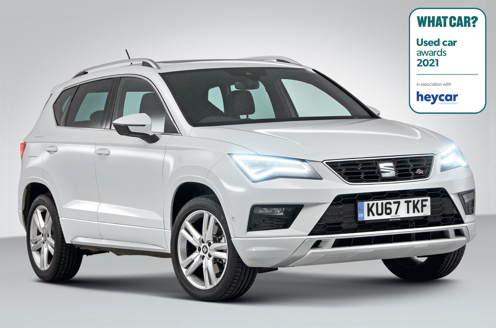 Used Car Awards 2021 - Seat Ateca