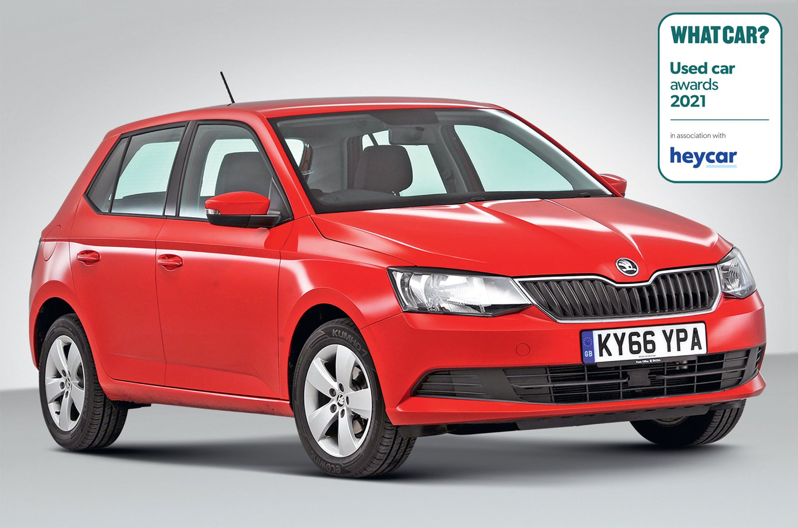 Used Car Awards 2021 - Skoda Fabia