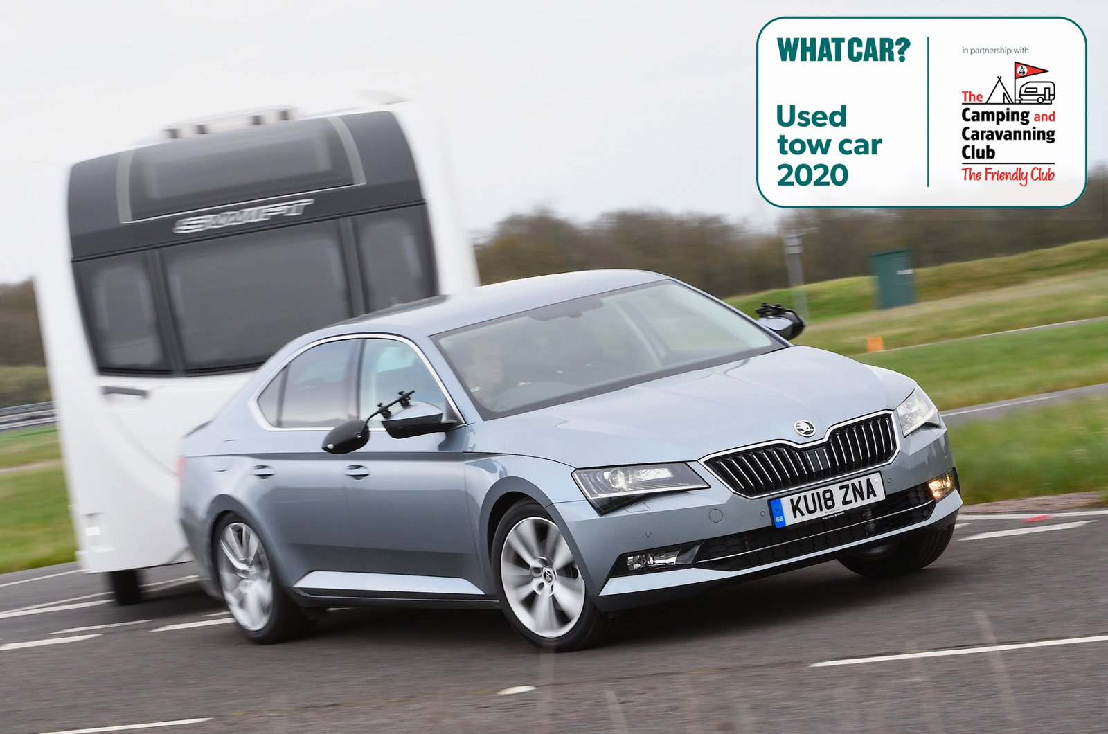 Used Tow Car - Skoda Superb