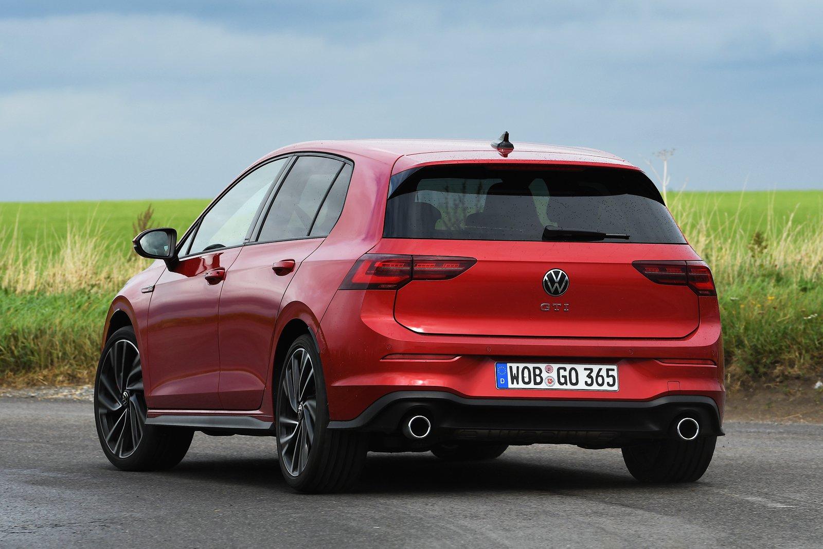 2020 Volkswagen GTI rear