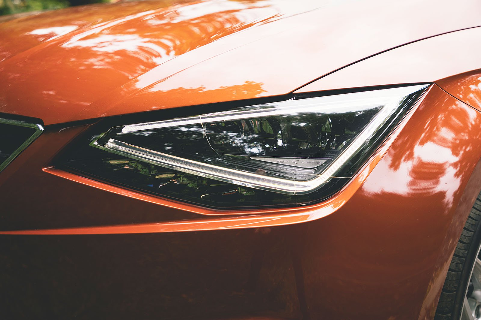 Seat Ibiza 2020 headlamp detail