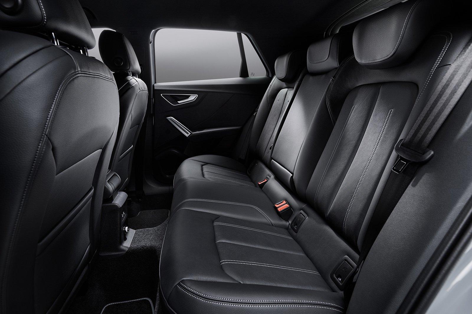 Audi Q2 2020 rear seats