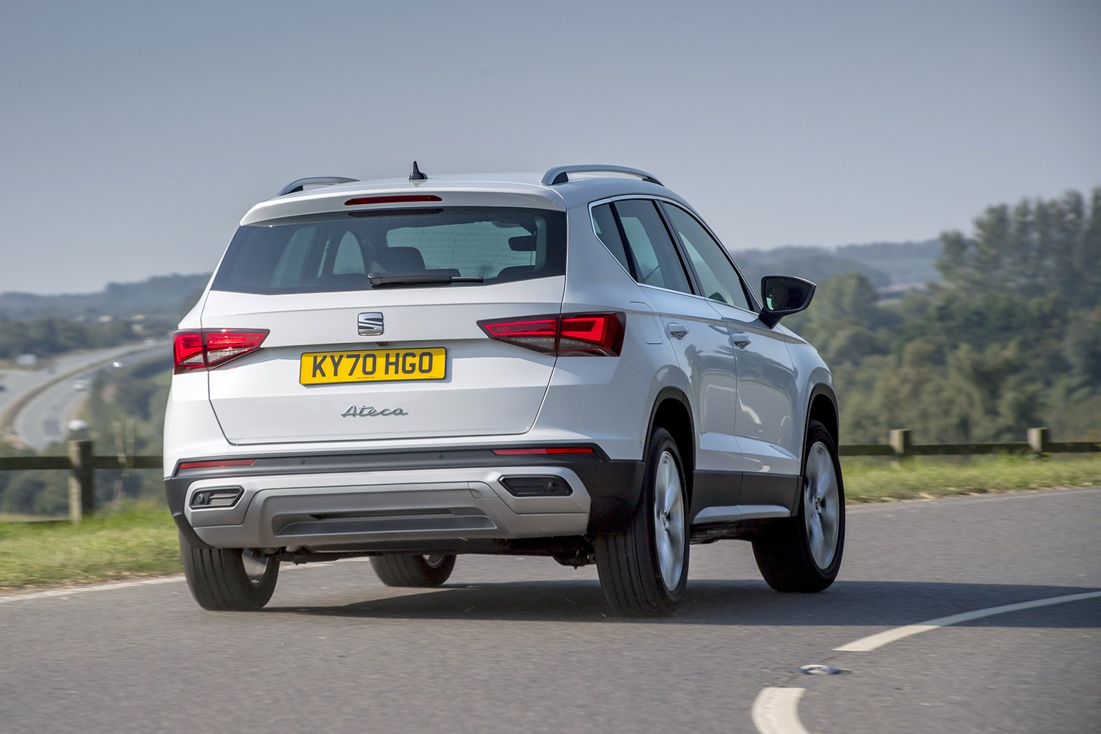 Seat Ateca 2020 rear cornering