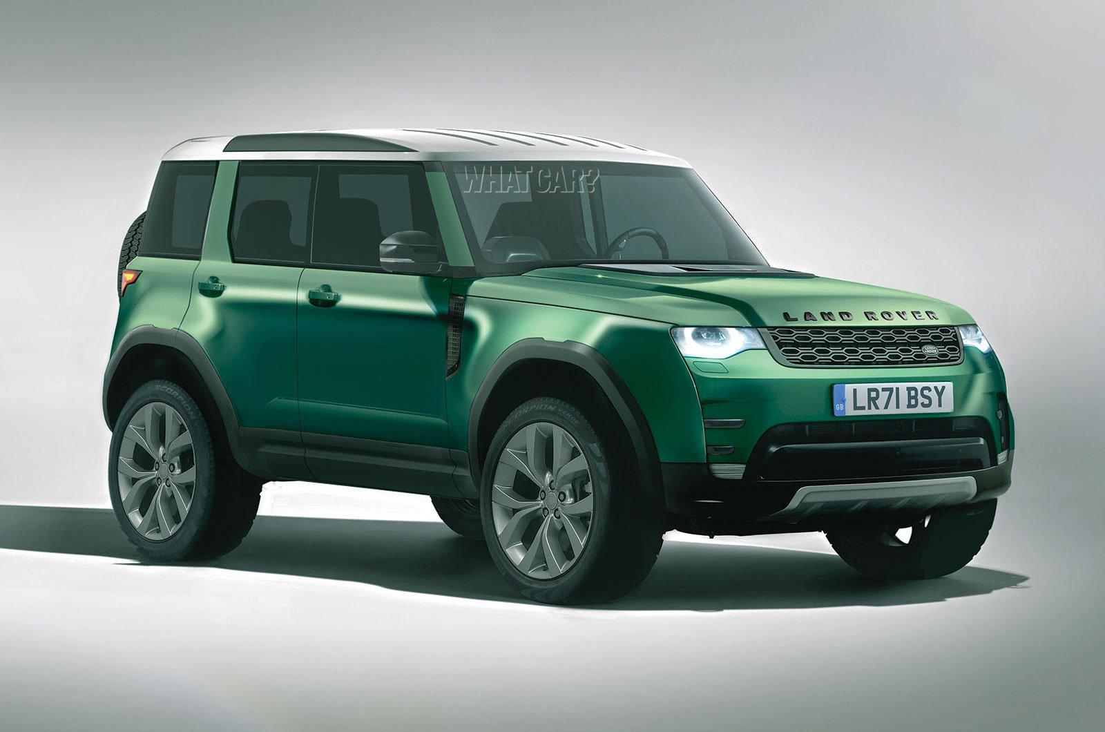Land Rover Baby Defender rendering