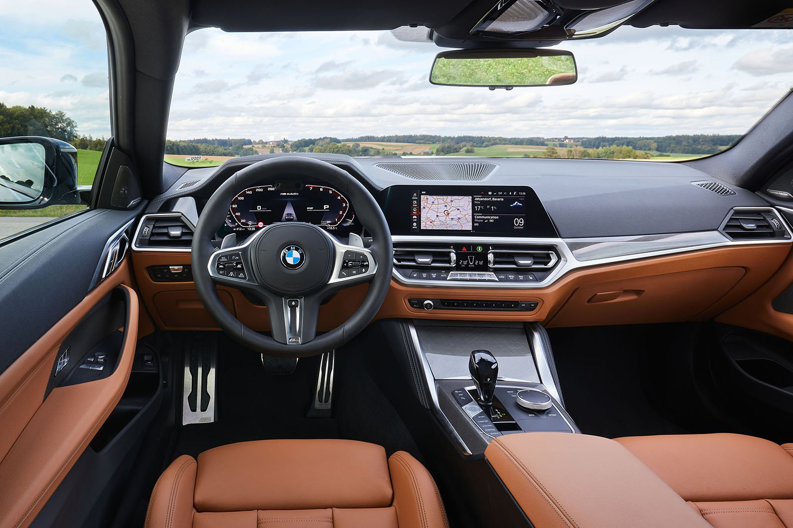 BMW 4 Series Coupé 2020 dashboard