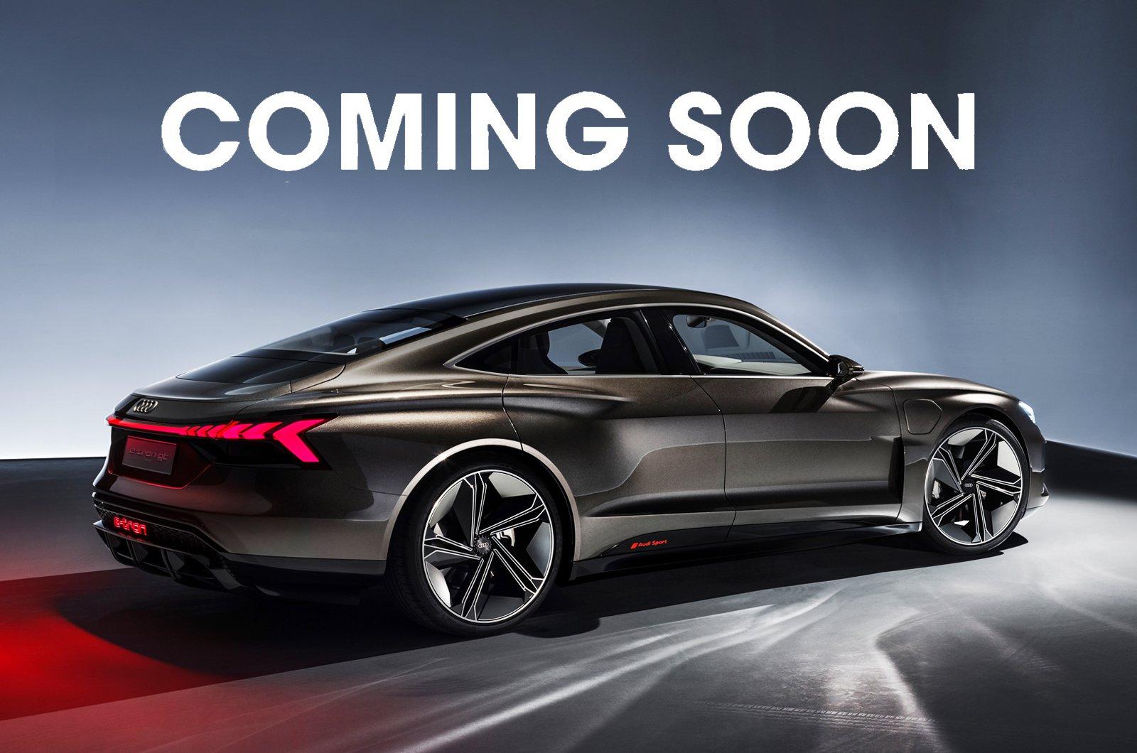 Coming soon - Audi E-tron GT