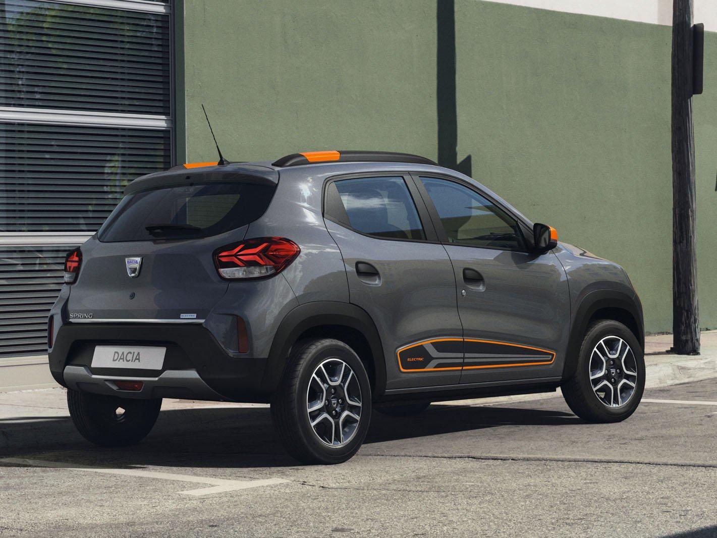 Dacia Spring Electric rear