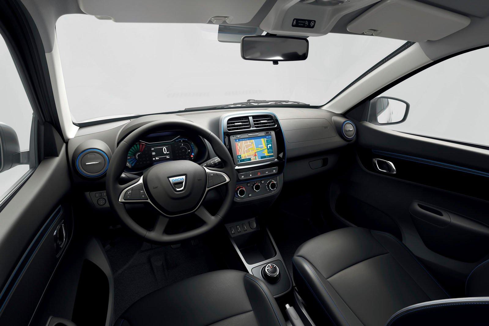 Dacia Spring Electric interior