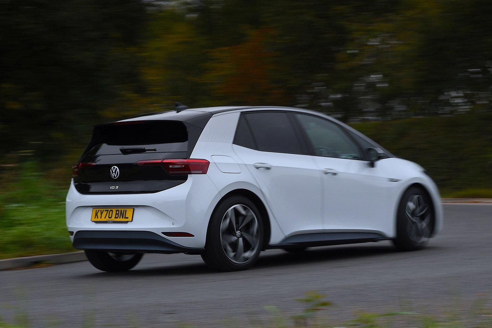 Volkswagen ID.3 2021 wide rear cornering