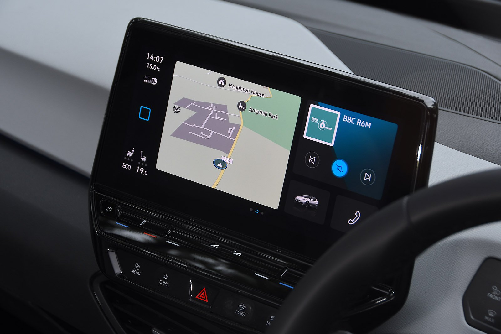 Volkswagen ID.3 2021 infotainment