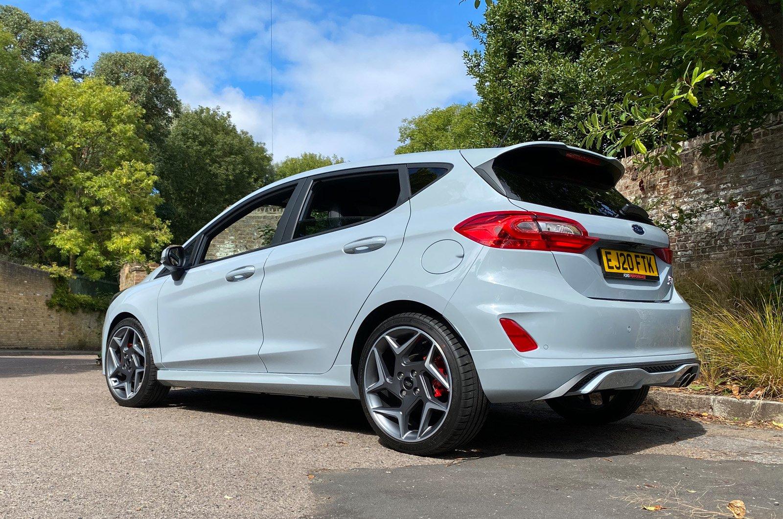 Fiesta ST rear static long-term
