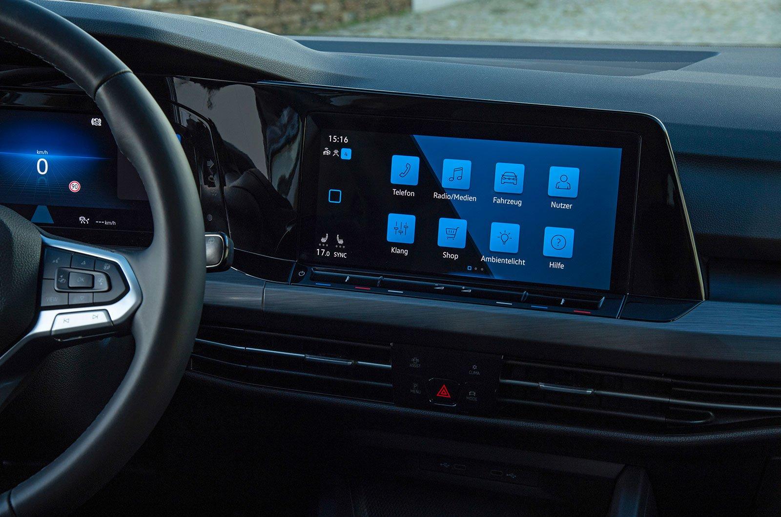Volkswagen Golf Discover Pro Navigation system
