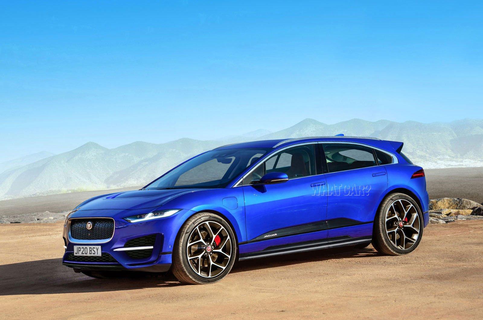 Jaguar J-Pace rendering