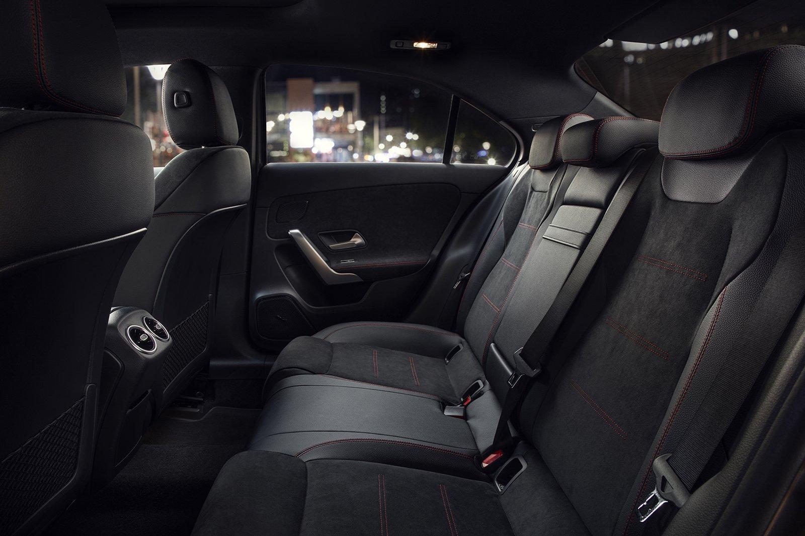 Mercedes A-Class Saloon 2020 rear seats
