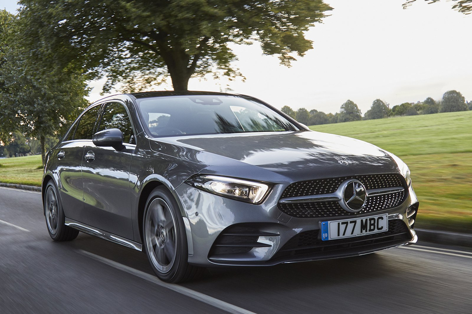 Mercedes A-Class Saloon 2020 front tracking