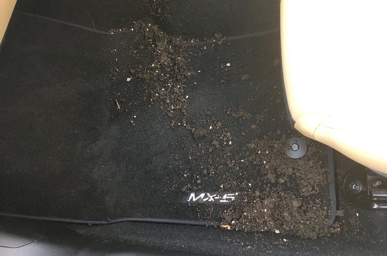 Used Mazda MX-5 lightly soiled