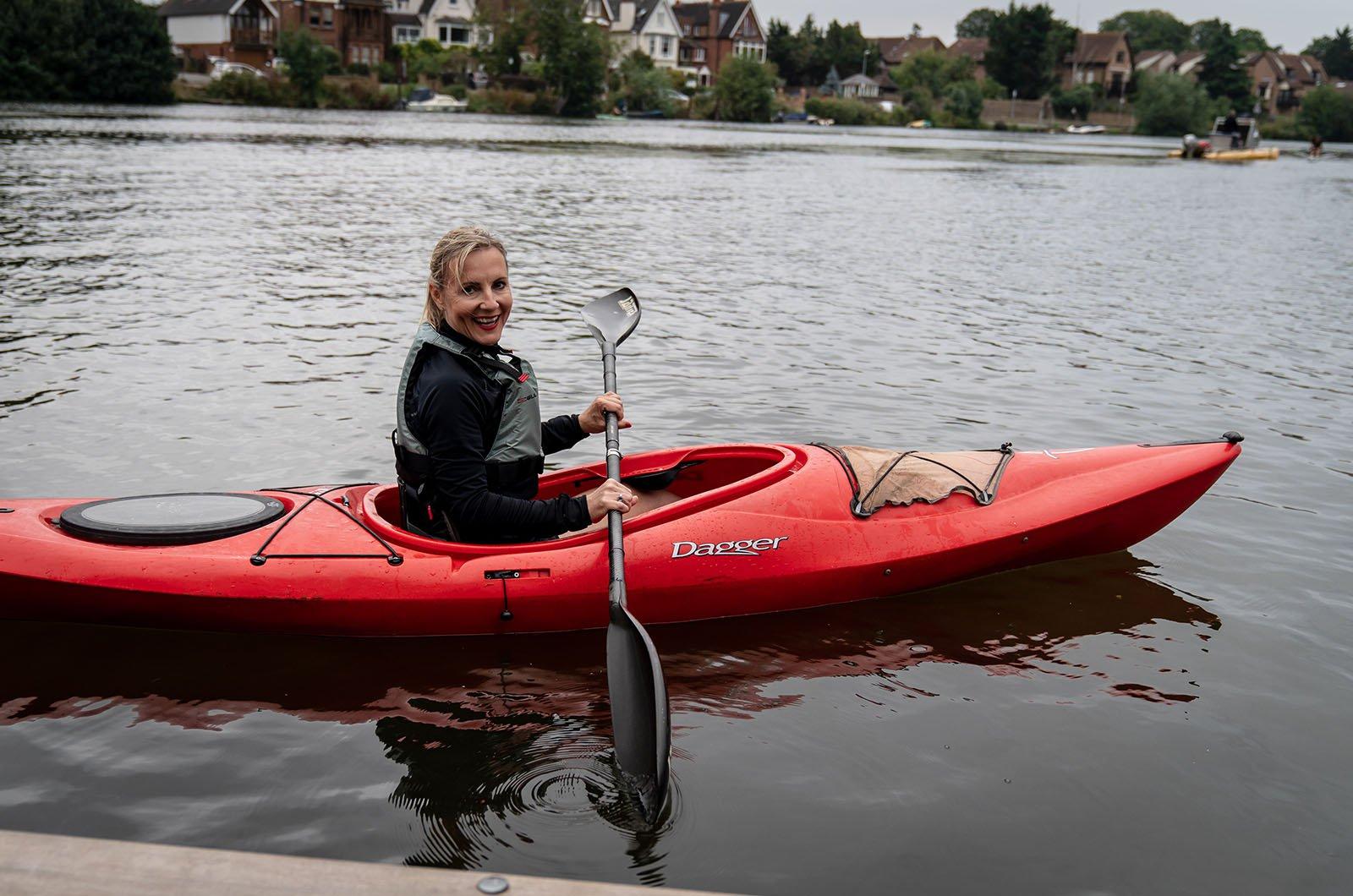 Skoda Kamiq urban kayaking