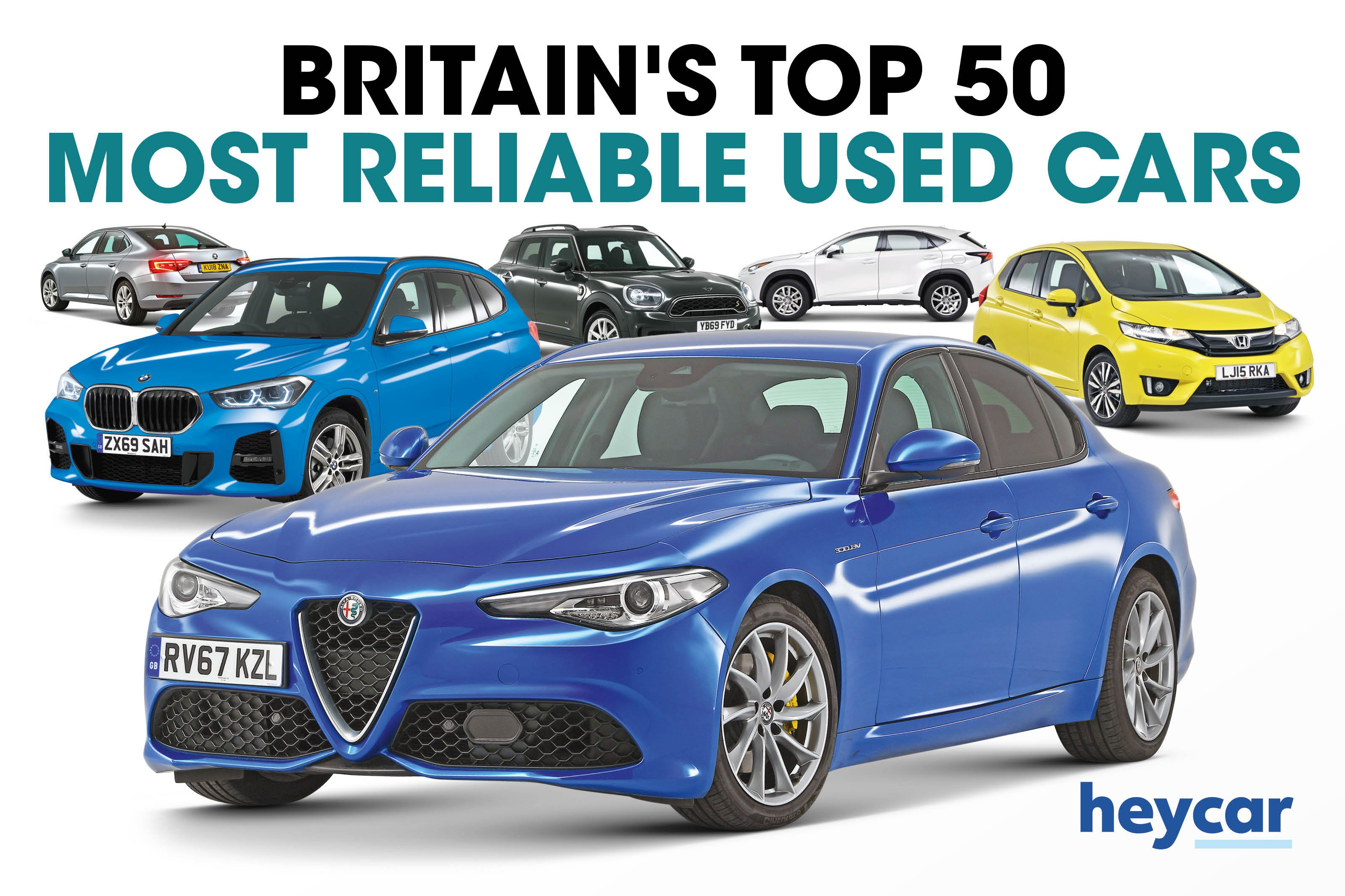 Top 50 most reliable used cars