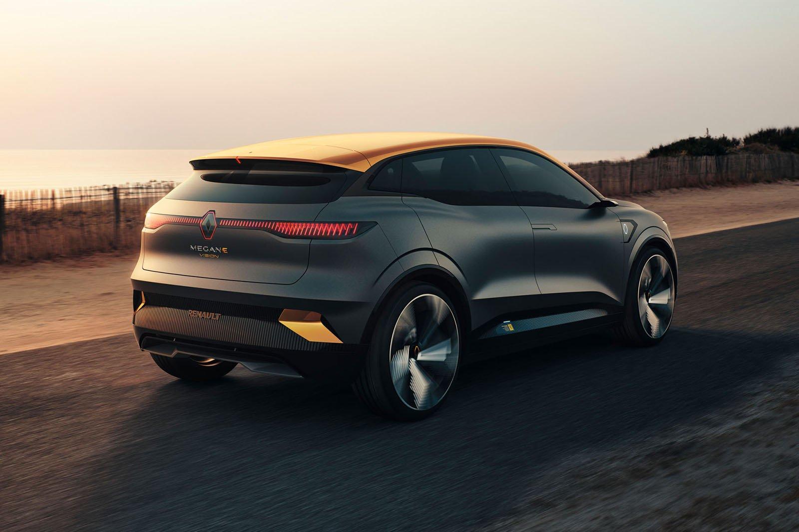 2022 Renault Megane eVision rear