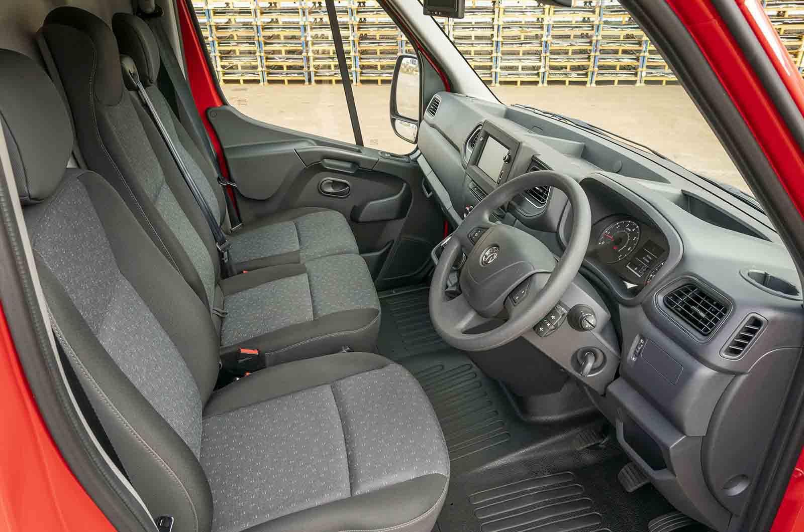 Vauxhall Movano interior