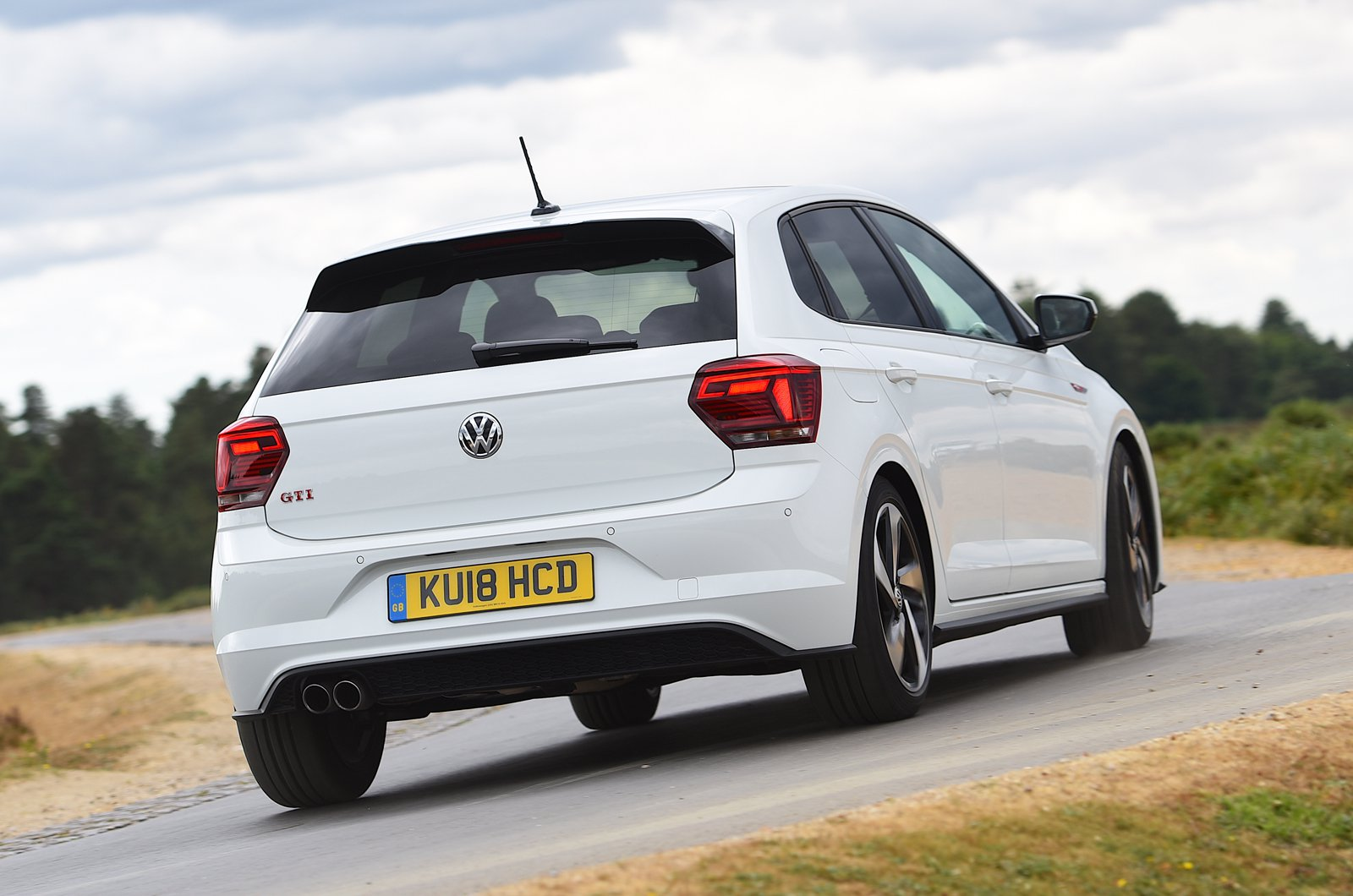 Volkswagen Polo GTI rear