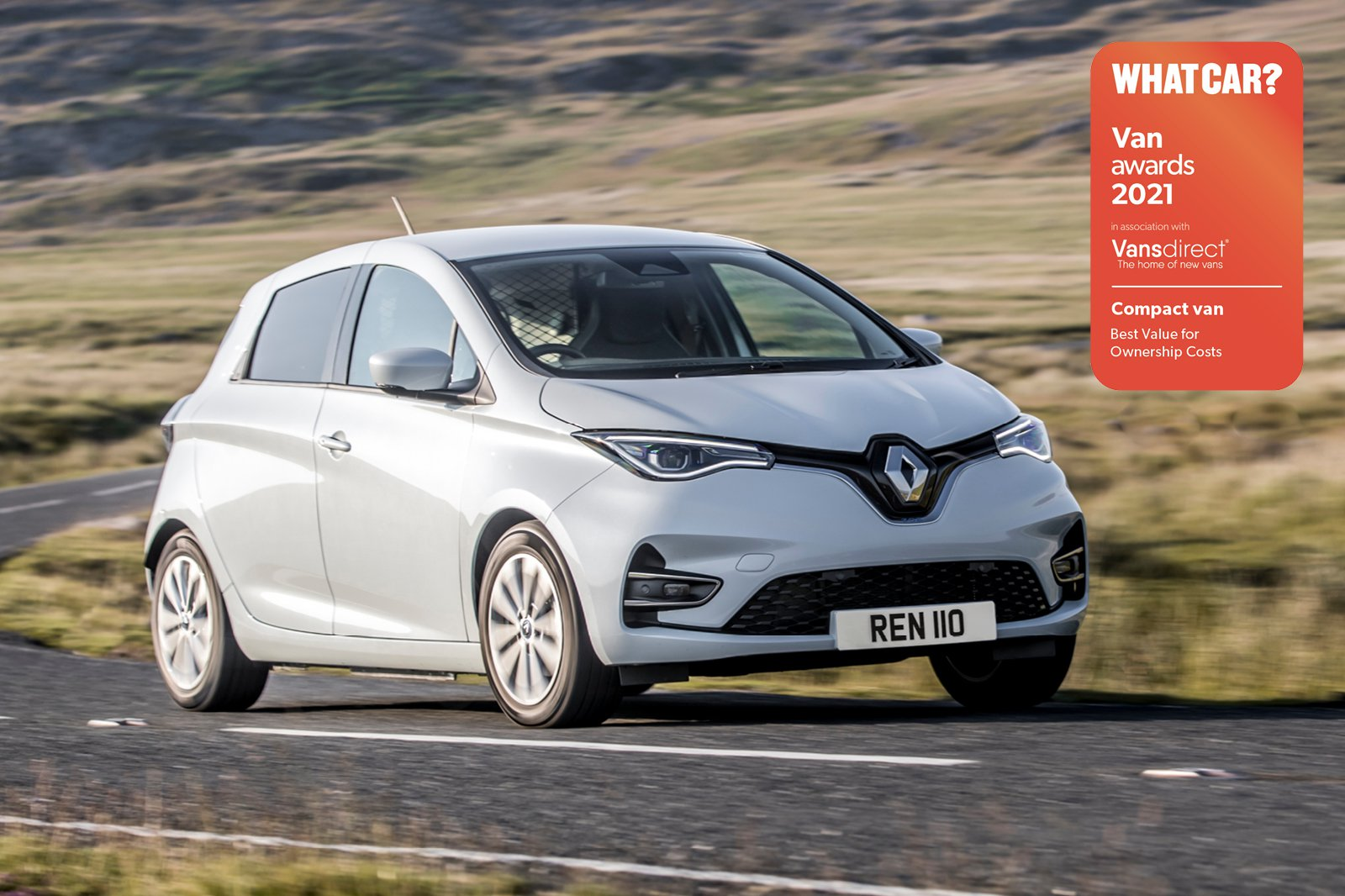 Van Awards - Renault Zoe (new logo)