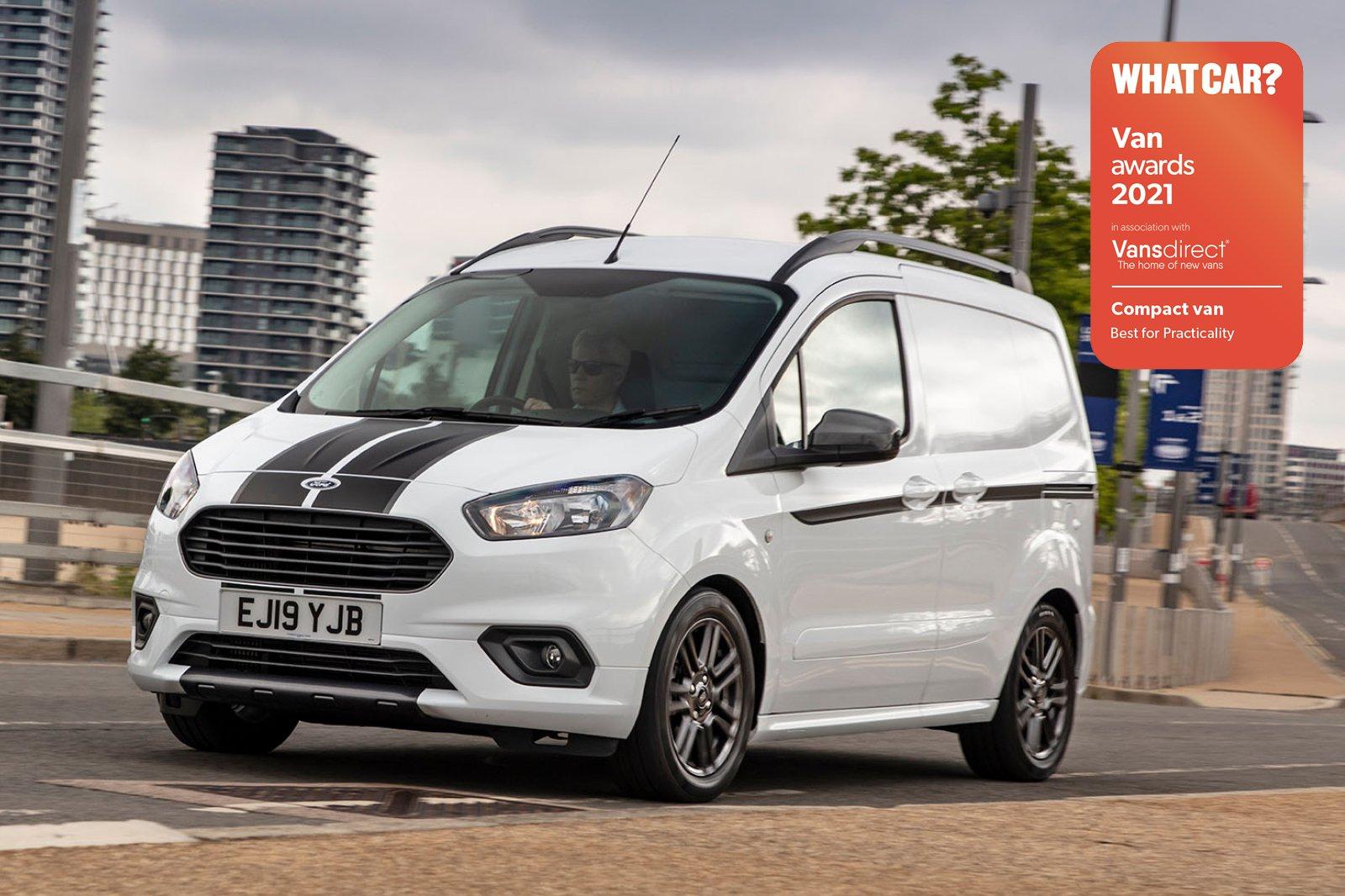 Van Awards - Ford Transit Courier (new logo)