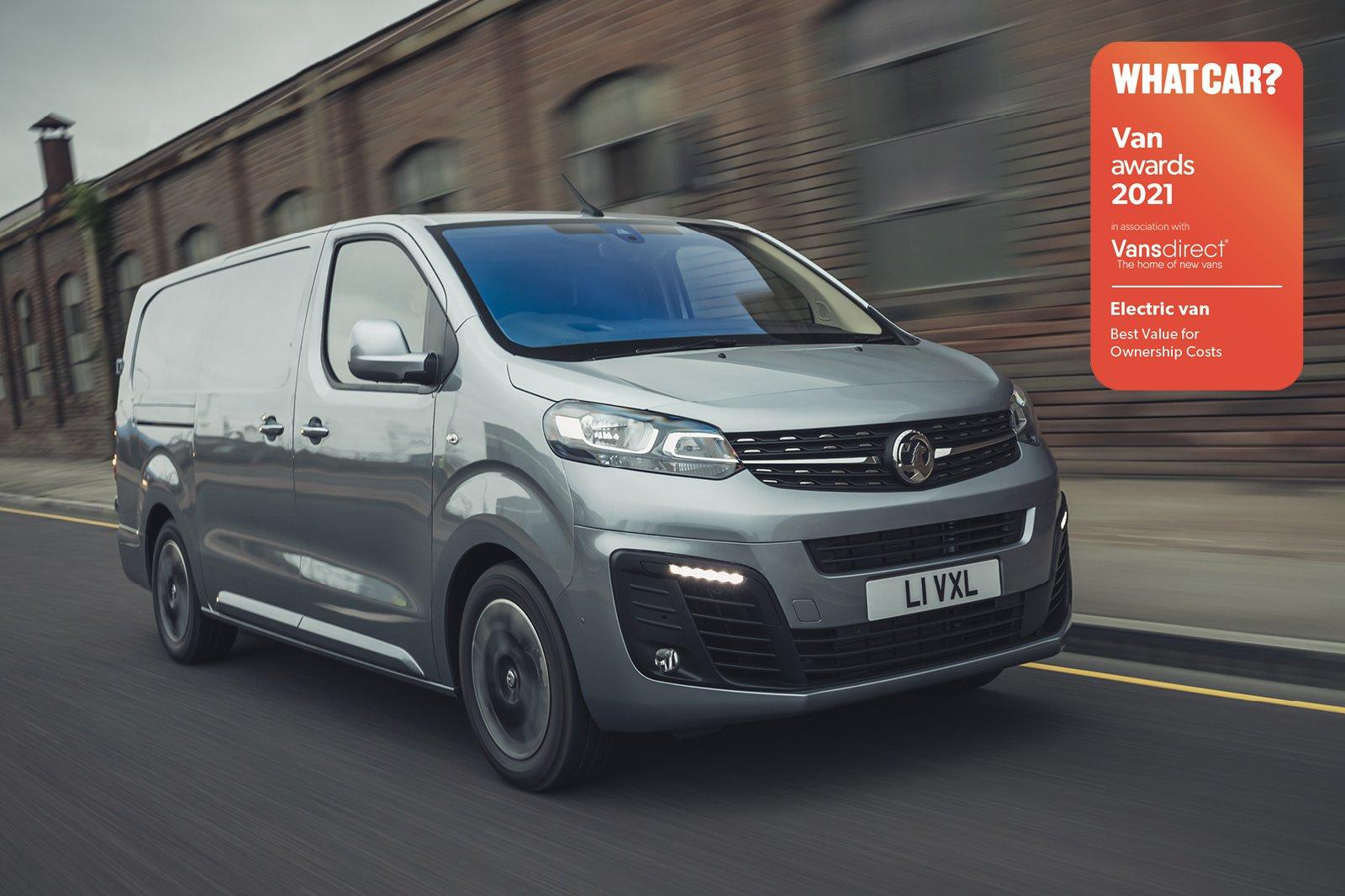 Van Awards 2021 - Electric Van - Best for Ownership Costs (new logo)