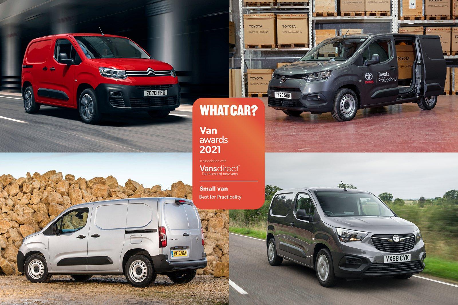 Van Awards - Small Van - Best Practicality (new logo)