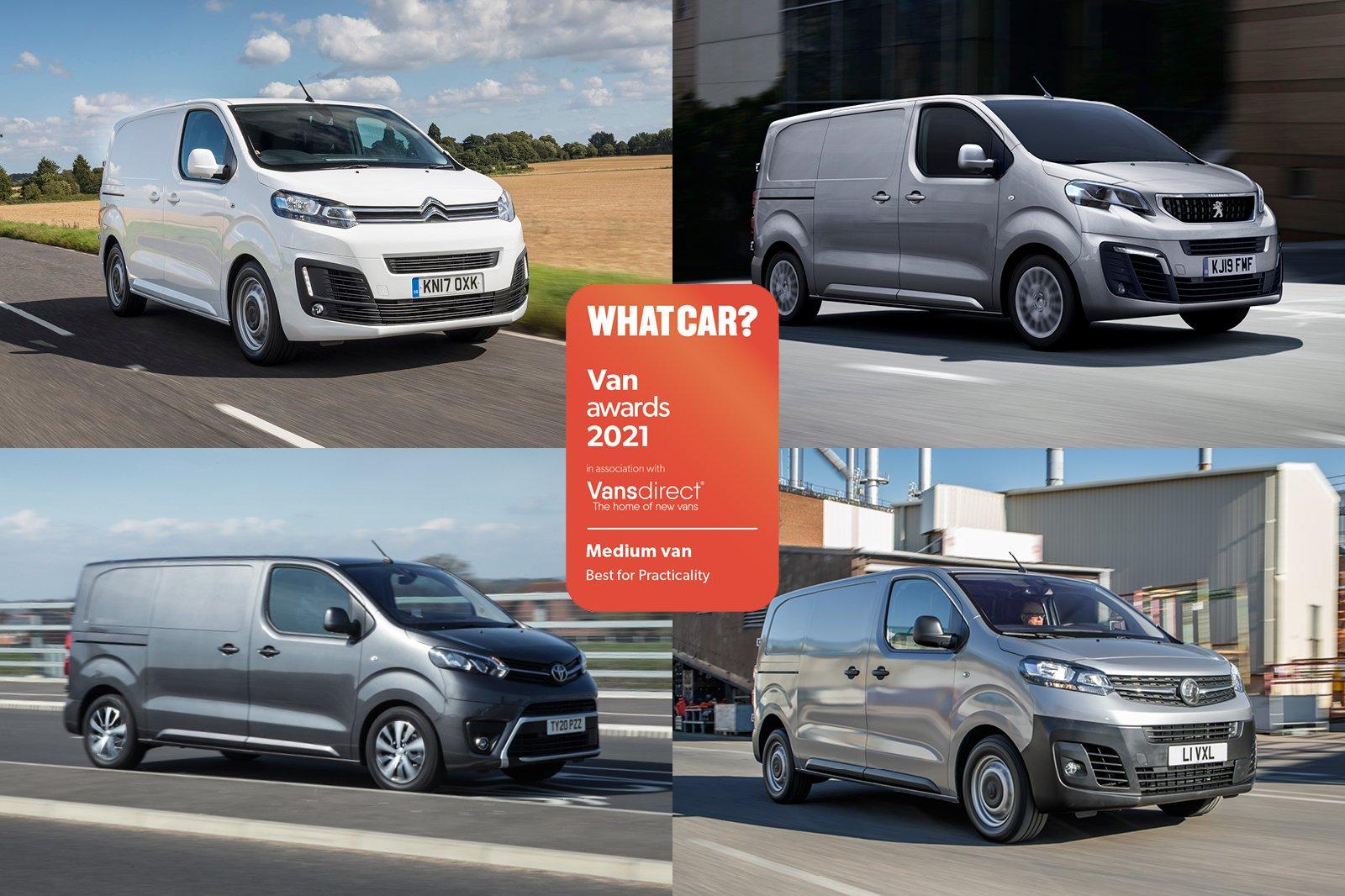Van Awards 2021 - Medium Van - Best for Practicality (new logo)
