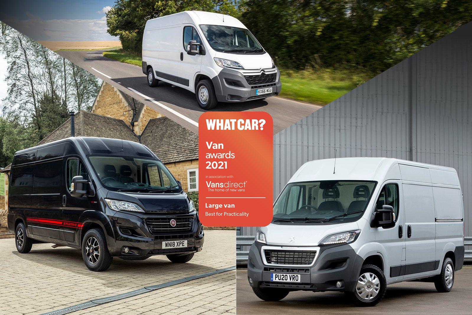 Van Awards 2021 - Large Van - Practicality (new logo)