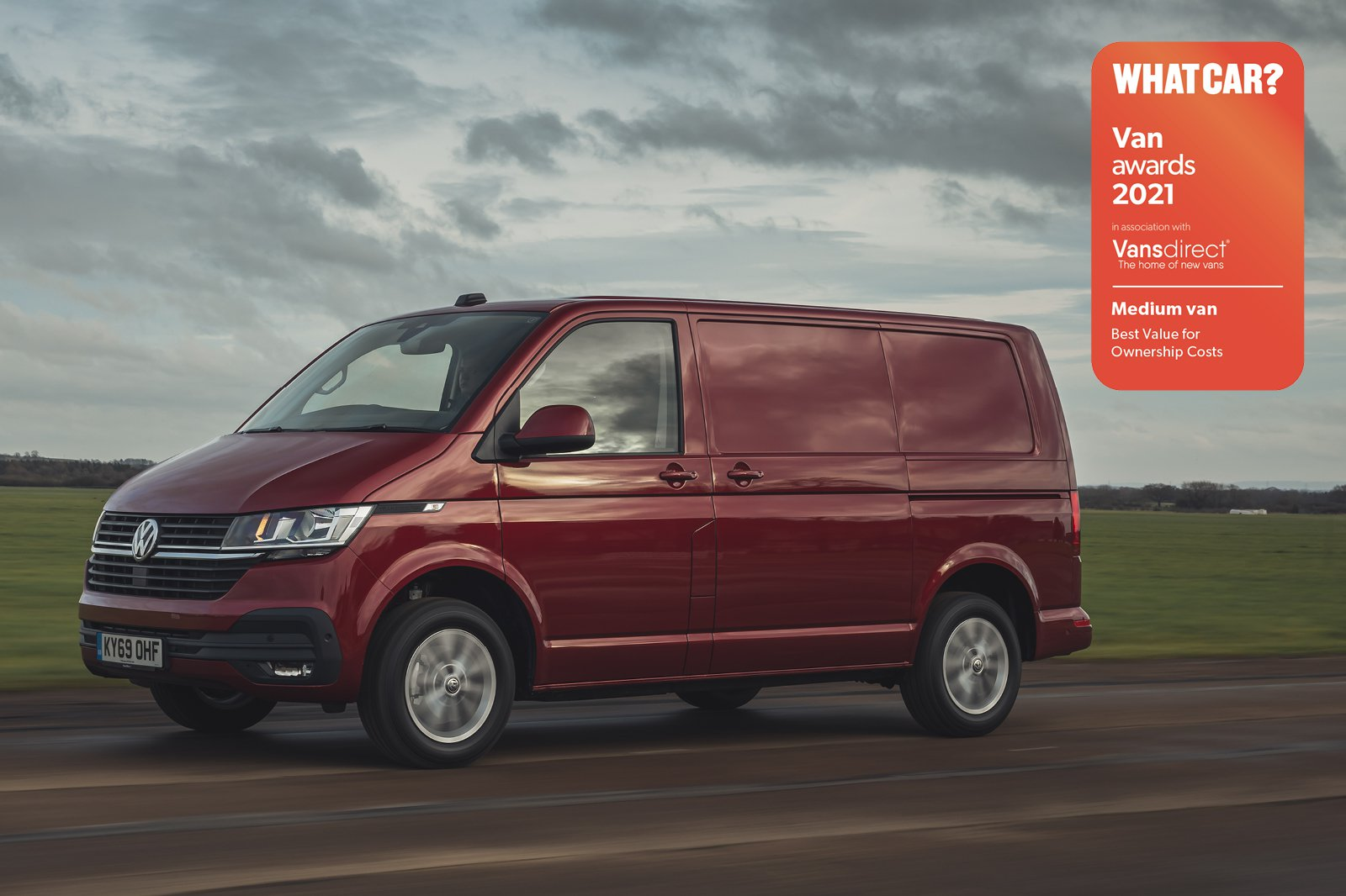 Van Awards 2021 - Medium Van - Best Value for Ownership Costs (new logo)