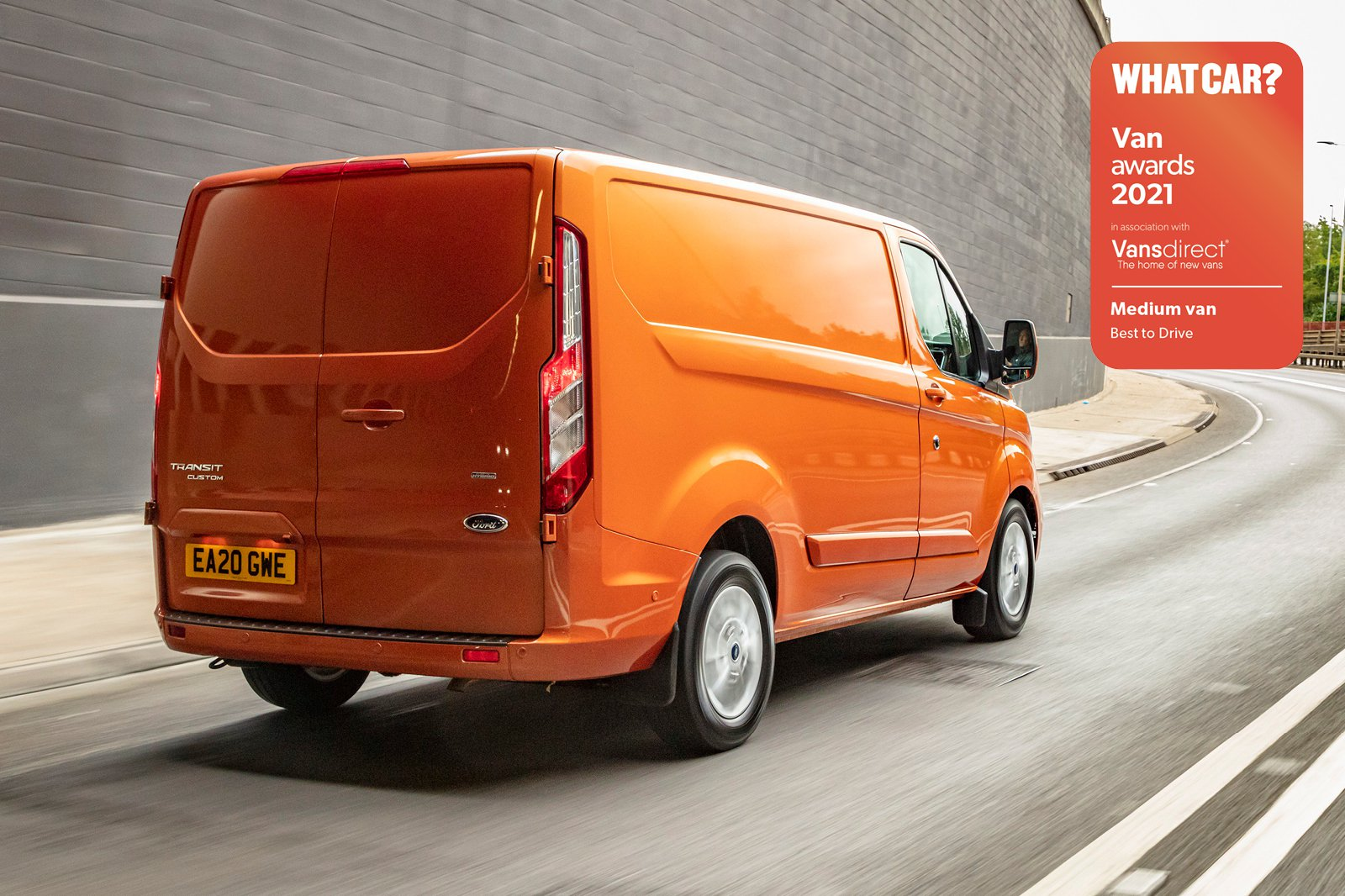 Van Awards 2021 - Medium Van - Best to Drive (new logo)