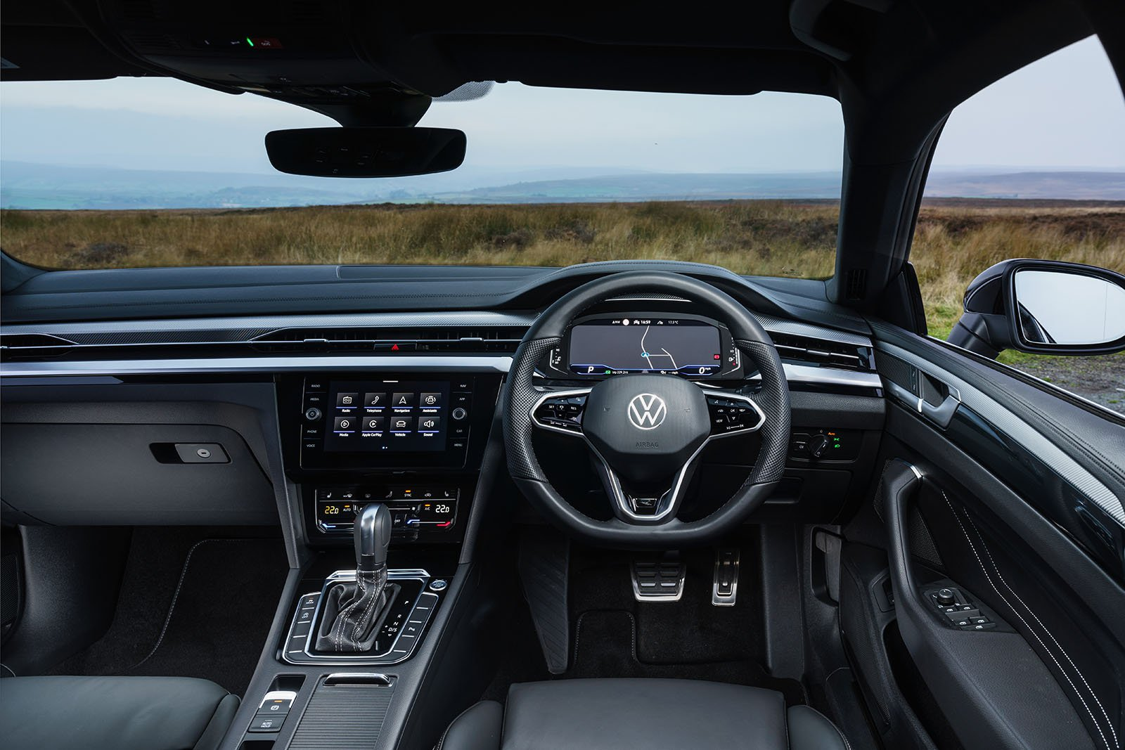 Volkswagen Arteon Gran Turismo 2020 Dashboard