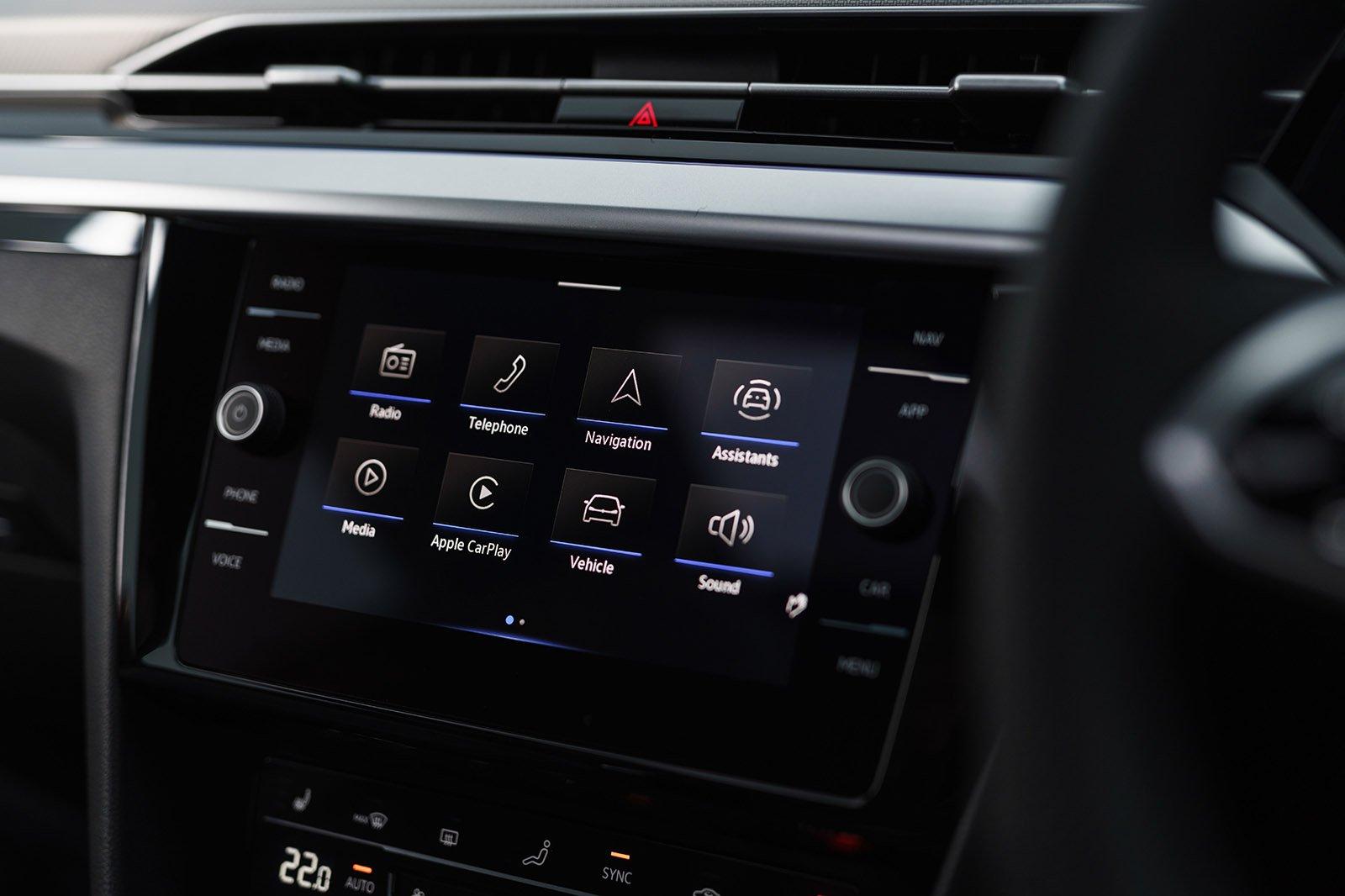 Volkswagen Arteon Shooting Brake 2020 infotainment