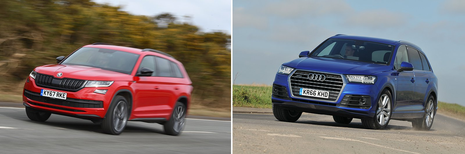 New Peugeot 5008 vs used Range Rover Sport alternatives