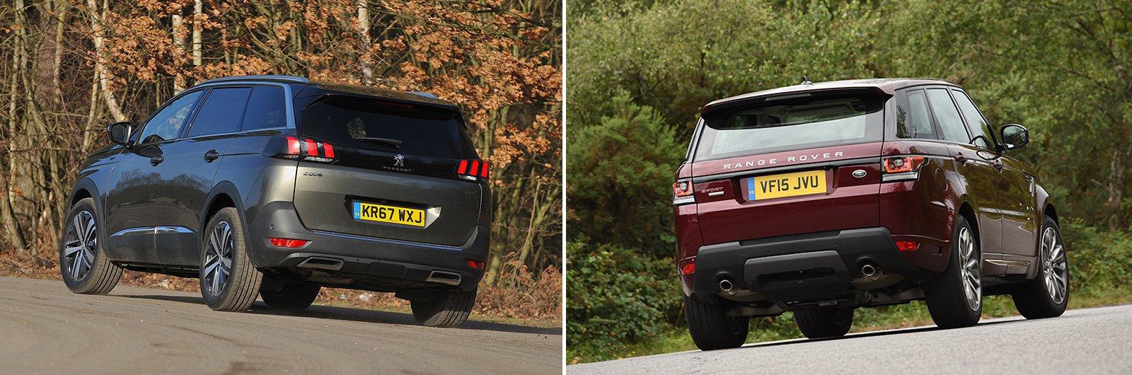 New Peugeot 5008 vs used Range Rover Sport