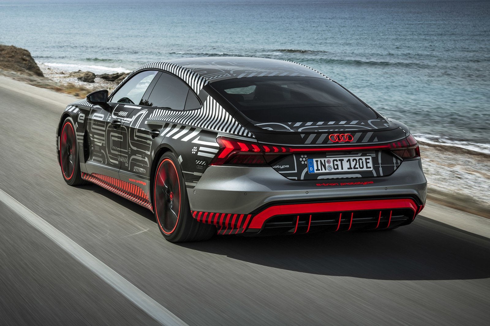 2021 Audi RS e-tron GT rear